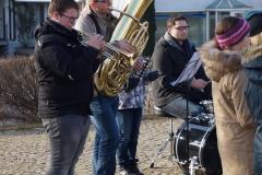Weihnachtsständle Jungmusiker 2017
